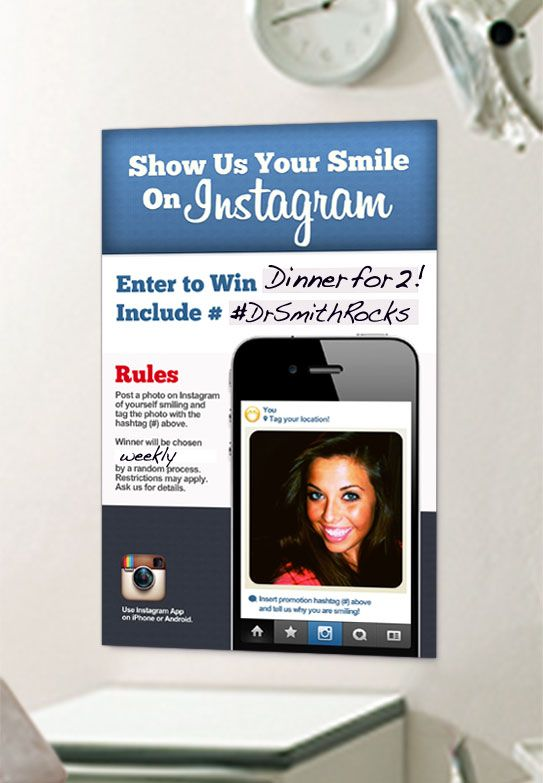 Download This Turn-Key Instagram Promo For Your Dental Practice