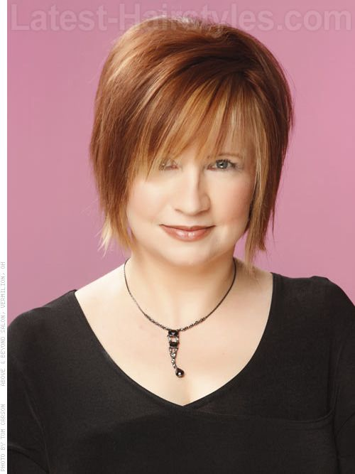 cute side bangs for women over 50 | ... cute hairstyles ...