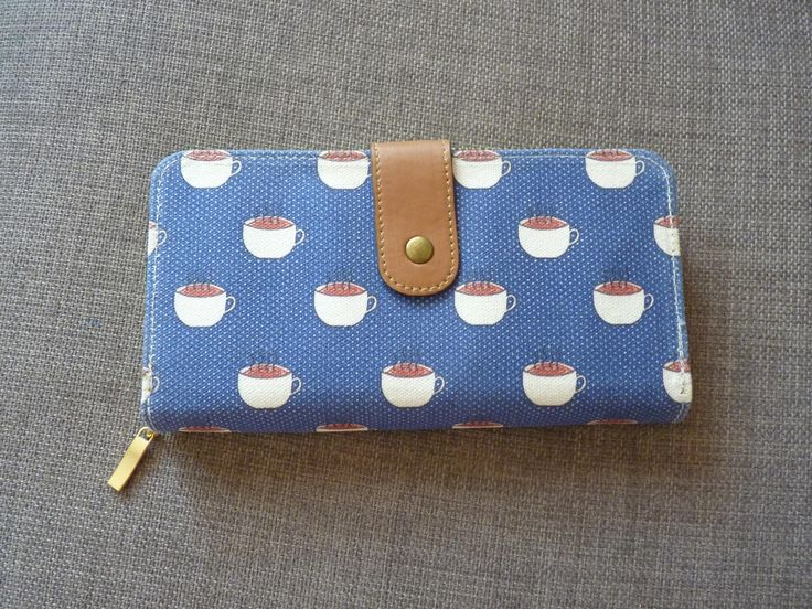 Made with ❤️ : Tea Cup Print Wallet *Last one!  https://www.etsy.com/listing/537040105/tea-cup-print-wallet-last-one?utm_campaign=crowdfire&utm_content=crowdfire&utm_medium=social&utm_source=pinterest