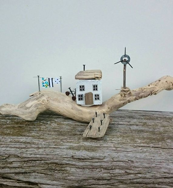 Check out this item in my Etsy shop https://www.etsy.com/uk/listing/463385127/wind-turbine-cottage-handmade-driftwood