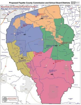 New District Map Proposed To Comply With The May Decision Of U S District Court Judge Timothy