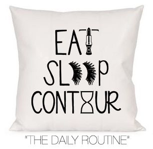 DAILY ROUTINE DECORATIVE PILLOW – TIME LOS ANGELES