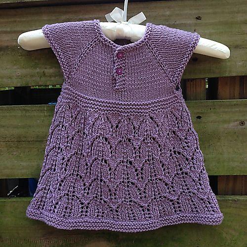 Ravelry: Paulina Dress pattern by Taiga Hilliard Designs