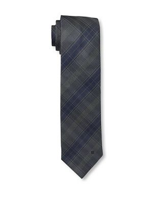 52% OFF Givenchy Men's Plaid Tie, Blue/Grey