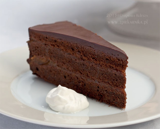 Tort Sachera ~ Z PIEKARNIKA