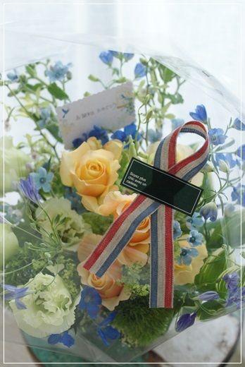 【今日の贈花】誕生日祝で喜ばれるお花は。。|Flower note の 花日記 (横浜・上大岡 アレンジメント教室)