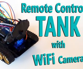 inventionhardware.com Arduino – control Remoto Tanque Con WiFi Cámara (nRF24L+ / RC / Inalámbrico)