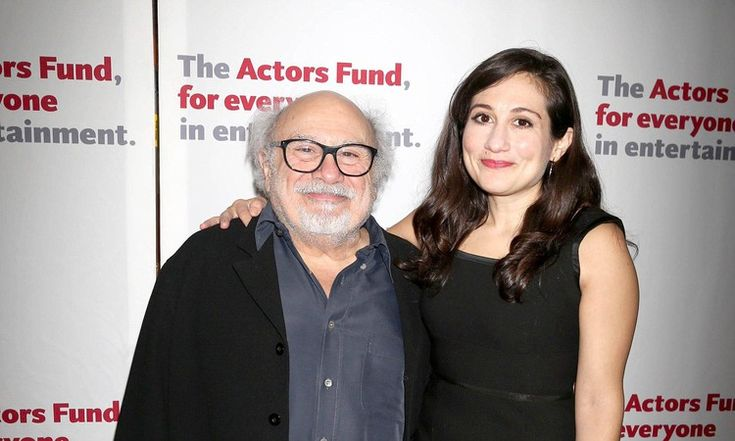 Danny DeVito poses with look-alike daughter Lucy