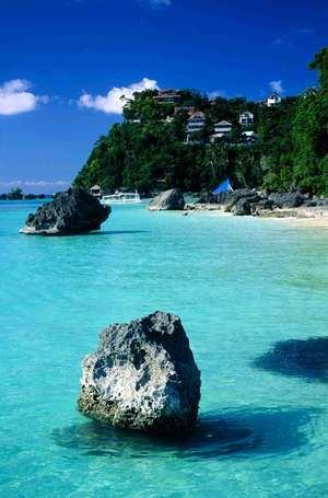 Boracay Where to Stay: Discovery Shores Boracay, voted the No. 1 hotel spa in Asia in the 2013 World's Best Awards, or Shangri-La Boracay Resort & Spa for its two private beaches and Sulu Sea vistas.