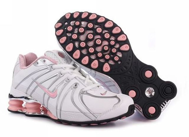 Nike Shox OZ Skor Vit Rosa Röd Kvinna 62192 Rea
