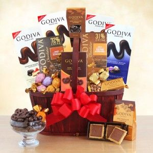 California Delicious| Godiva Connoisseur Chocolate Gift Basket