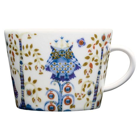 Buy Iittala White Taika Cappuccino Cup, 0.2L, White Online at johnlewis.com