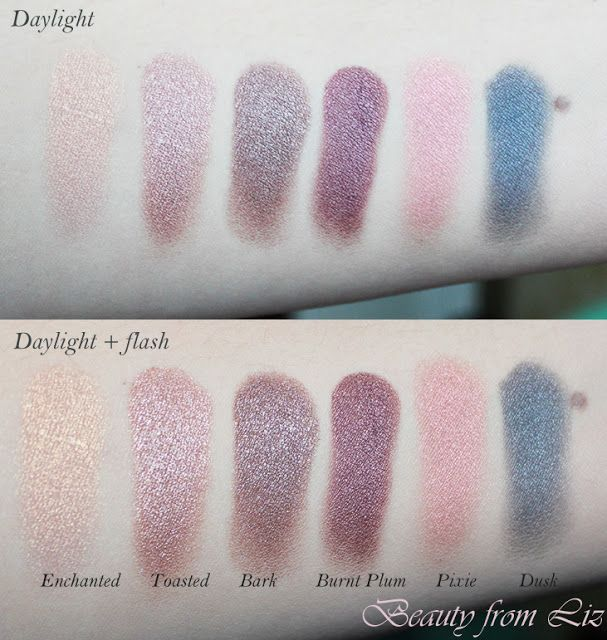 Beauty from Liz: Review: ELF Baked Eyeshadows All Colors. Bark is so pretty, dusk as well