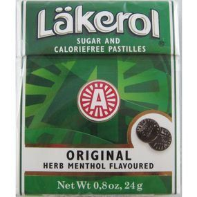Lakerol throat lozenges