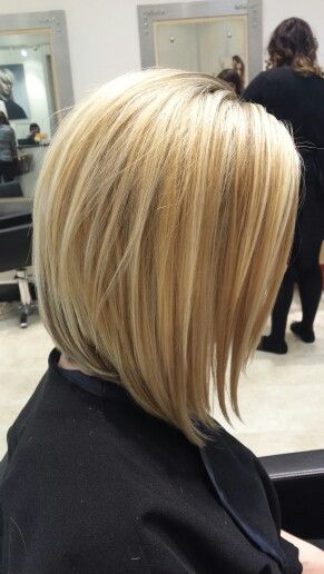 Obviously not straight but I love the length - bob