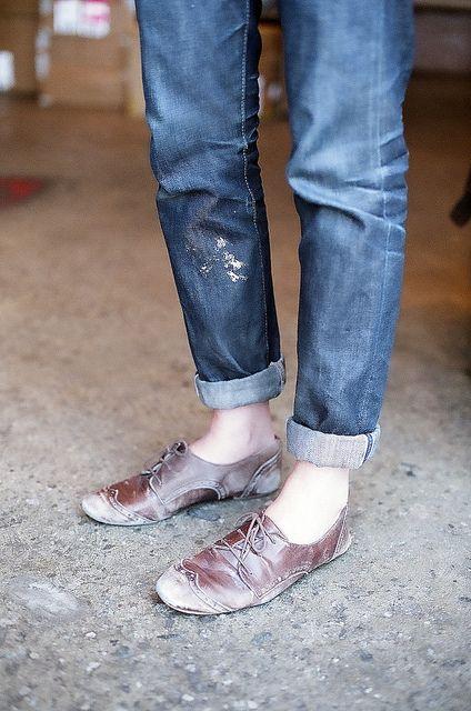 : Boyfriend Jeans, Fashion, Style, Clothes, Denim, Old Shoes, Cuffed Jeans, Wear