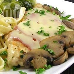 Recipe photo: Chicken Valdostana