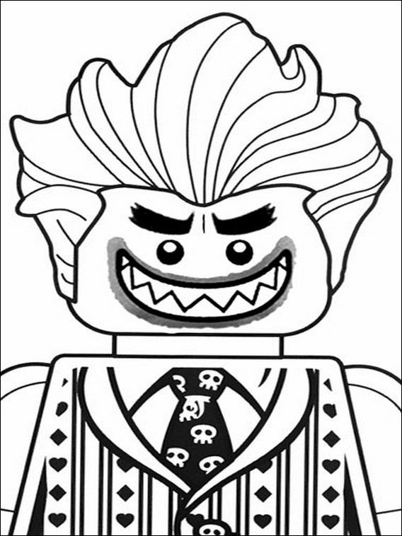 Lego Batman Coloring Pages 23
