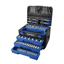 NEW Kobalt 227 Piece Standard & Metric Mechanic's Tool Set W/Case FREE SHIPPING