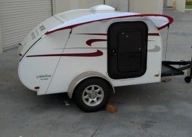 This is more toy than toy hauler - check out just how tiny these tiny tear drop trailers go!
