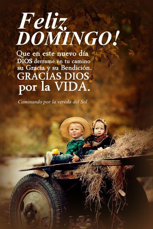 DOMINGO!  Dia del Senor y la familia, sean muy bendecidos!