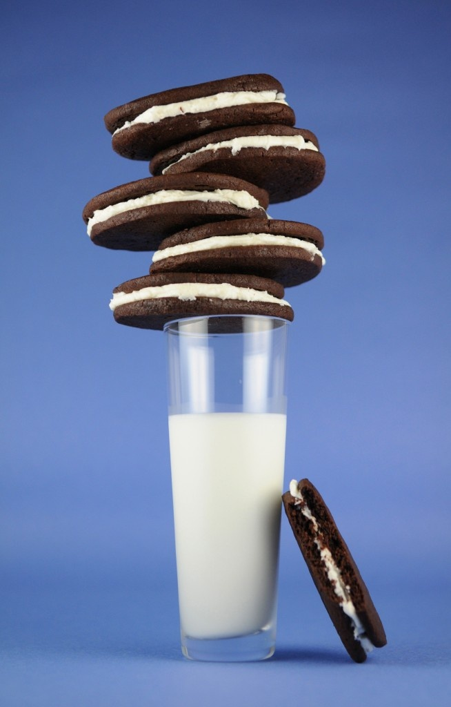 Zelfgemaakte Oreo koekjes. Yes please!