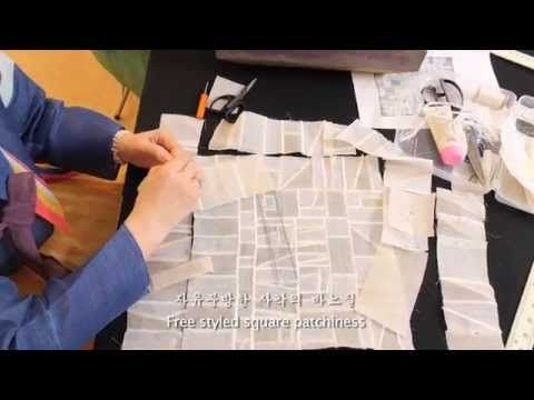 Chunghie Lee: 'Pojagi and Beyond' at the 2009 Festival of Quilts, England - YouTube