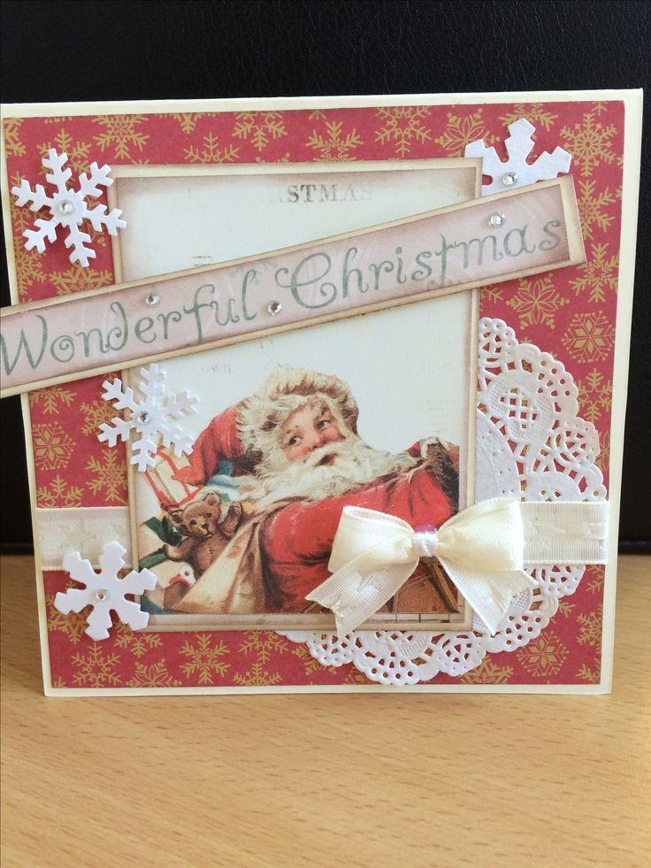 Christmas card made by Eszter Wittmann