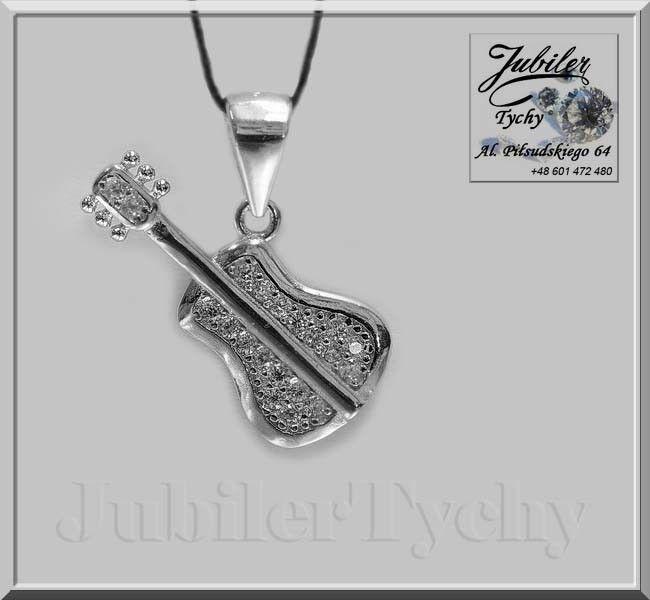 Srebrny wisiorek - Gitara z cyrkoniami 18 szt.  🎸💎🎁 #Srebrny #wisiorek #gitara #przywieszki #gitary #srebro #Ag925 #guitar z #cyrkoniami #Silver #srebrne #wisiorki #srebrna #przywieszka #biżuteria #cyrkonie #jubilertychy #Jubiler #Tychy #Jeweller #Tyski #Złotnik #Zaprasza #Promocje:  ➡ jubilertychy.pl/promocje 💎