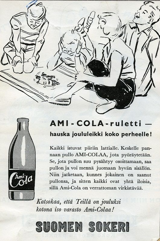 Ami-Cola #Cola #SuomenSokeri #virvoitusjuomat #joulu #pelit