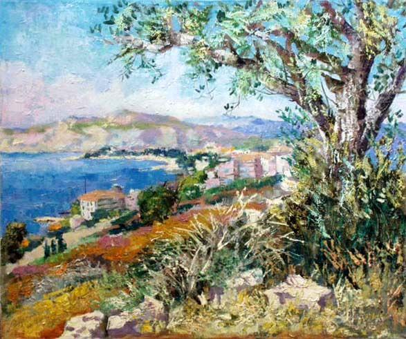 Cyprus  --------------------------------------------------------------------------------    Artist     Valeri Izumrudov