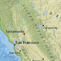 Today's Earthquakes in California, United States