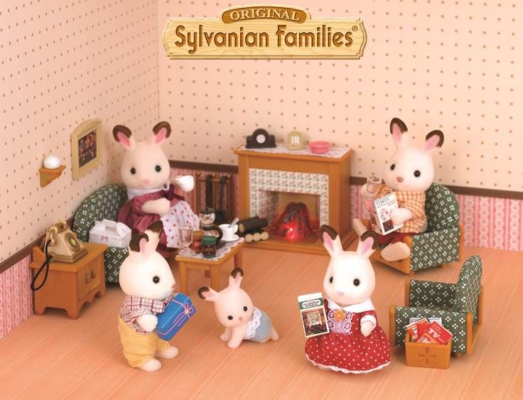 17 Best Images About Sylvanian Family On Pinterest