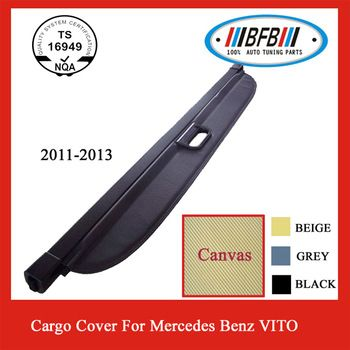 OEM Style For Mercedes Benz VITO Luggage Compartment Cargo Cover