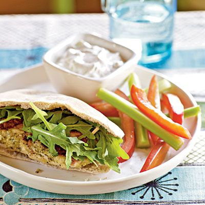 Healthy Mediterranean Turkey Burgers Recipe