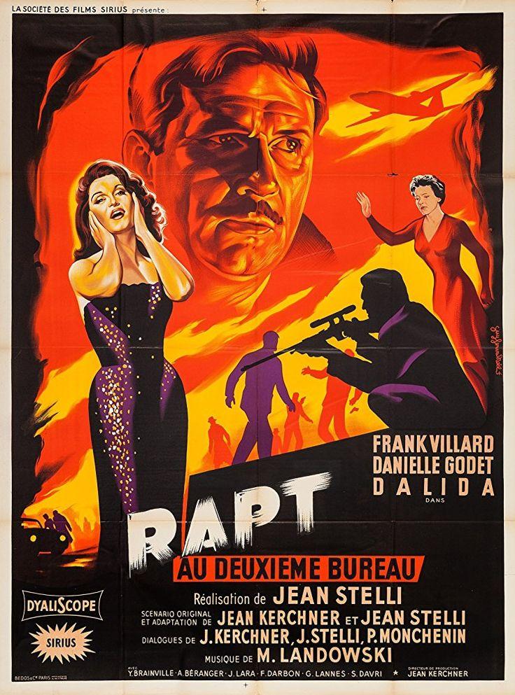Operation Abduction (1958) Rapt au deuxième bureau (original title)