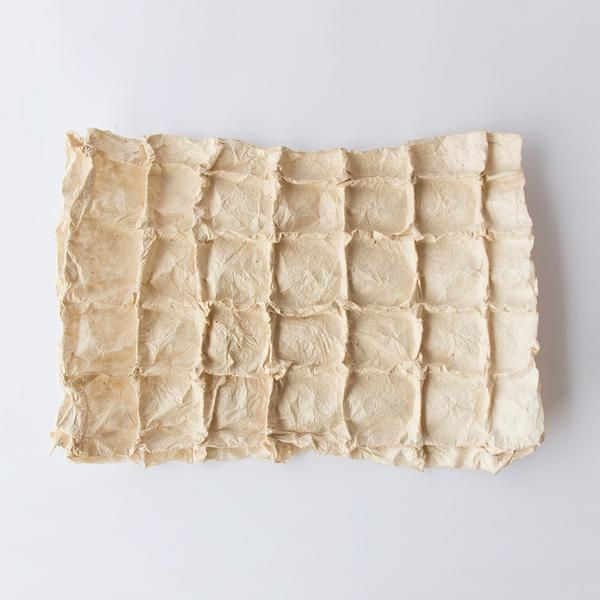 Handmade paper with sqares