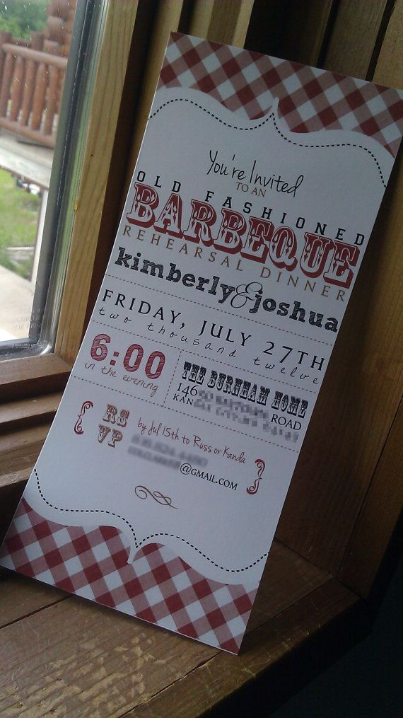 Rehearsal Dinner Invitation  Old Fashioned by designscents on Etsy, $1.75