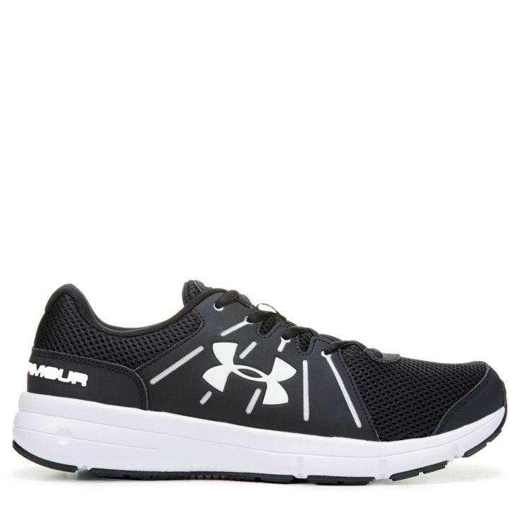 Under Armour Women's Dash 2 Wide Running Shoes (Black/White/White)