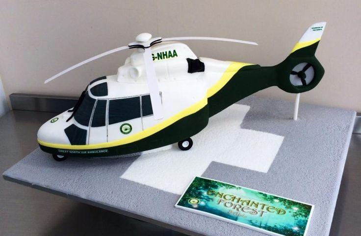 Great North Air Ambulance Cake