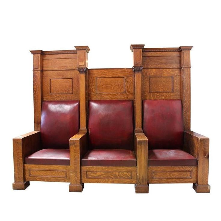 Fraternal Lodge Bench Thrones For Sale at 1stdibs