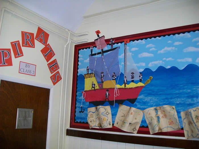 Classroom decoration ideas for teachers - Classroom Organization Classroom Decor Pirate Treasure Pirate Theme