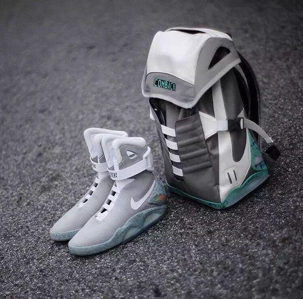 back to the future nike bag