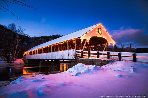 Stark Covered Bridge, Stark, New Hampshire