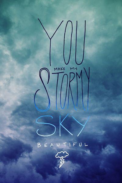 Stormy Sky Art Print