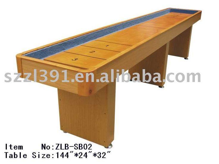 MDF Shuffleboard Table for sale $100~$200