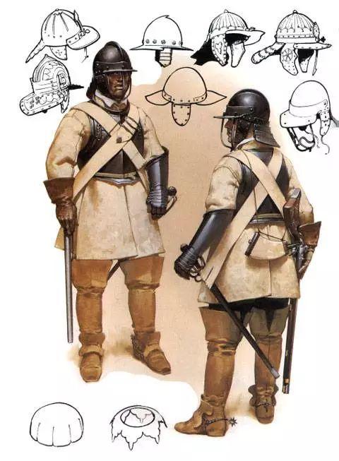 Arcabuceros a Caballo - Guerra Civil Inglesa 1642 - 1651