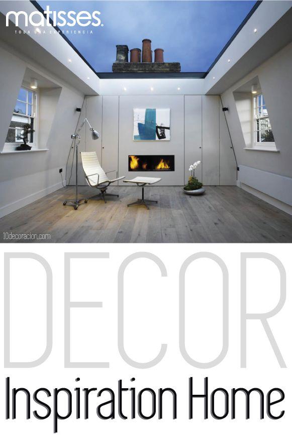 Si tu hogar cuenta con un ático, piensa re diseñar esta estancia para disfrutar momentos de relajación, como está casa en Londres que tiene un ático con techo en cristal