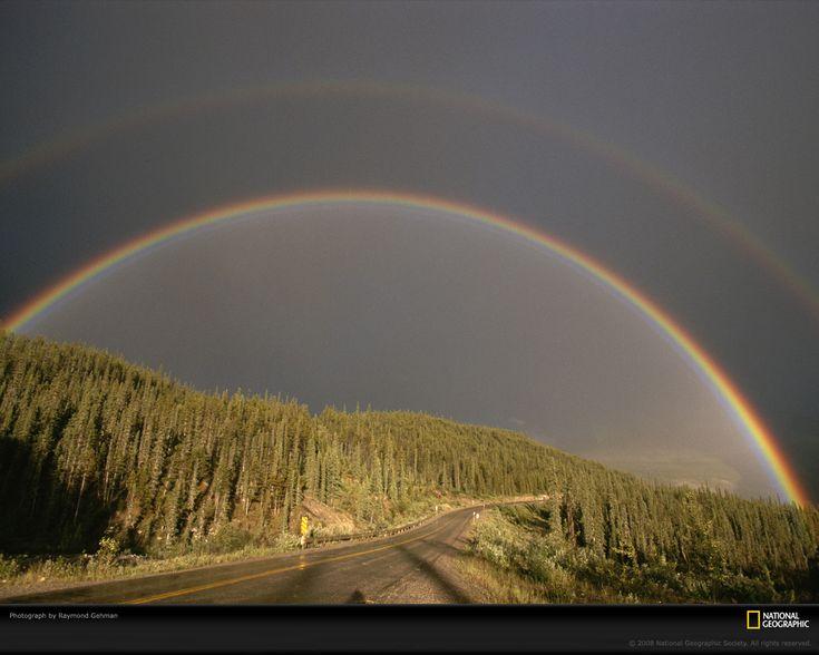 Rainbows: Favorite Places, Charms, Color, Double Rainbows, Beautiful, Arco Iris, Natural, God Promi, Rainbow