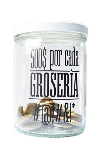 Nuevo : Alcancia Groserias